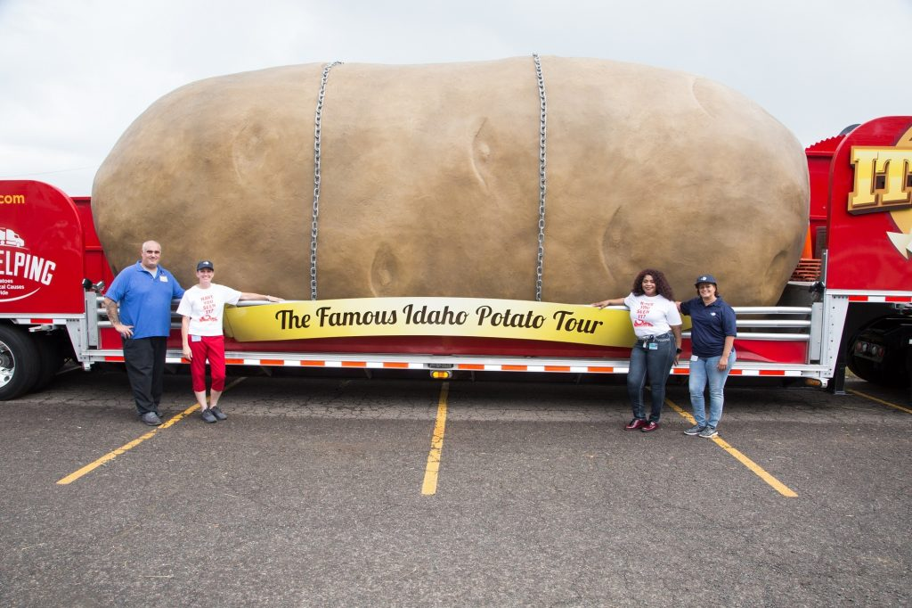 Worlds Largest Potato Community Renewal Team