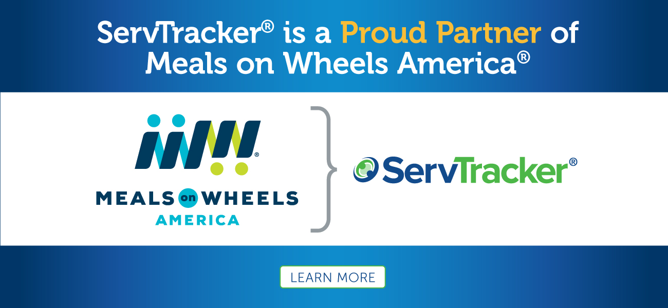 Proud partner of Meals on Wheels America link to press release
