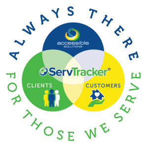 ServTracker User Conference 2021 Graphic - Always There for Those We Serve